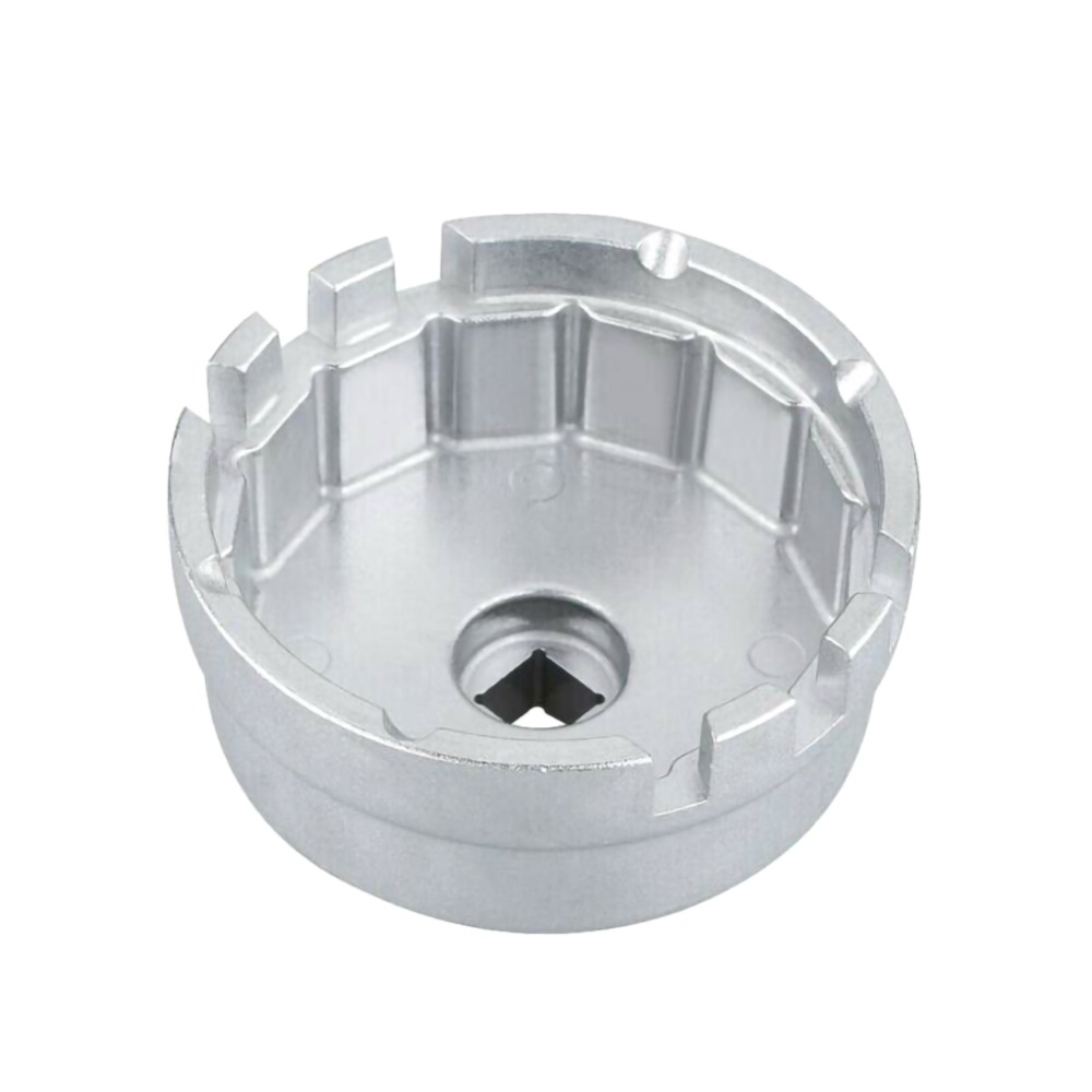 Universal 14 Flute Aluminum Cap Oil Filter Wrench Cap Car Socket Remover Tool For Ford Toyota Lexus Oil Filter Wrench Auto Tool