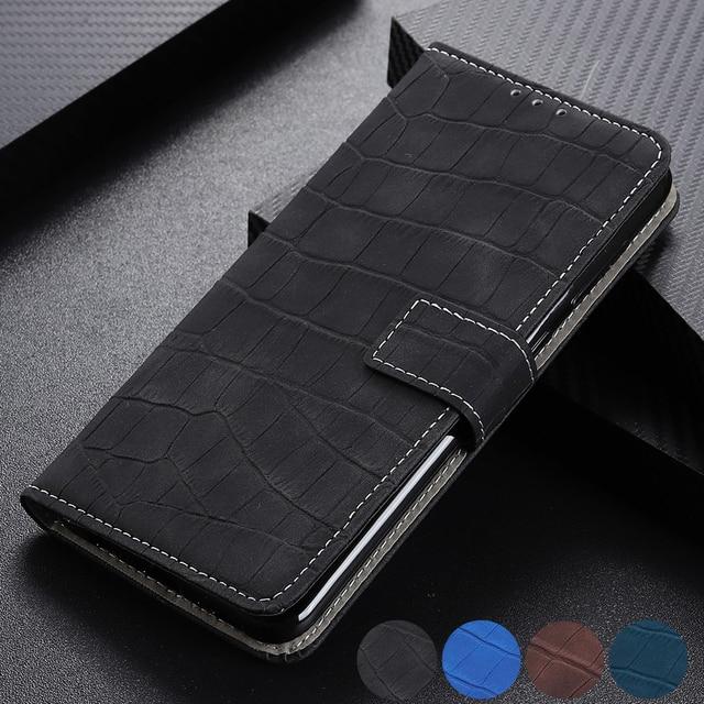 Kılıf için Huawei Y5 Y6 Y7 Y9 2019 Mate 30 Lite P30 Pro onur 9X Pro P akıllı Z w /manyetik cüzdan kart sahipleri kredi kartı kimliği kapak