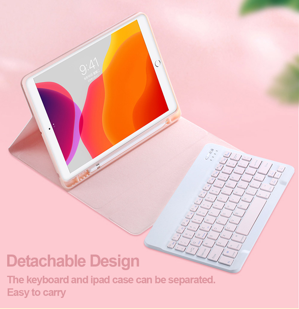 Keyboard A2324 Russian A2072 Spanish English iPad 10.9 2020 Case Mouse For Korean Air4