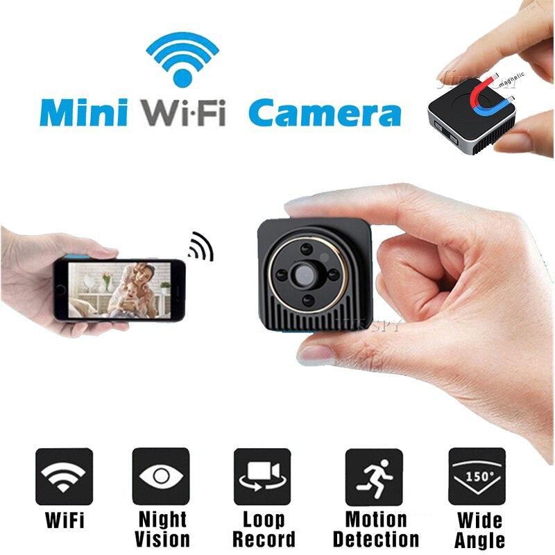 Full HD Spy Mini Camera Audio Voice Video Recorder Night Vision APP Remote Cam