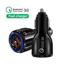 Car USB Charger Quick Charge 3.0 2.0 Mobile Phone C