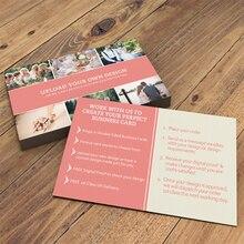 200 stücke/500 stücke/1000 stücke/lot personalisierte visitenkarte 90*54mm papier druck ID karten