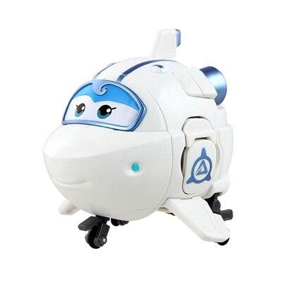 Большой! 15 см ABS Супер Крылья деформация самолет робот фигурки Супер крыло Трансформация игрушки для детей подарок Brinquedos - Цвет: No Box ASTRA