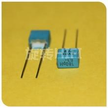 20PCS החדש EVOX PFR 180PF 63V 100V P5MM MKP 181/63V סרט EVOX RIFA PFR5 181 180PF/63V 0.18nf 63V181 180P/100v 181/100V