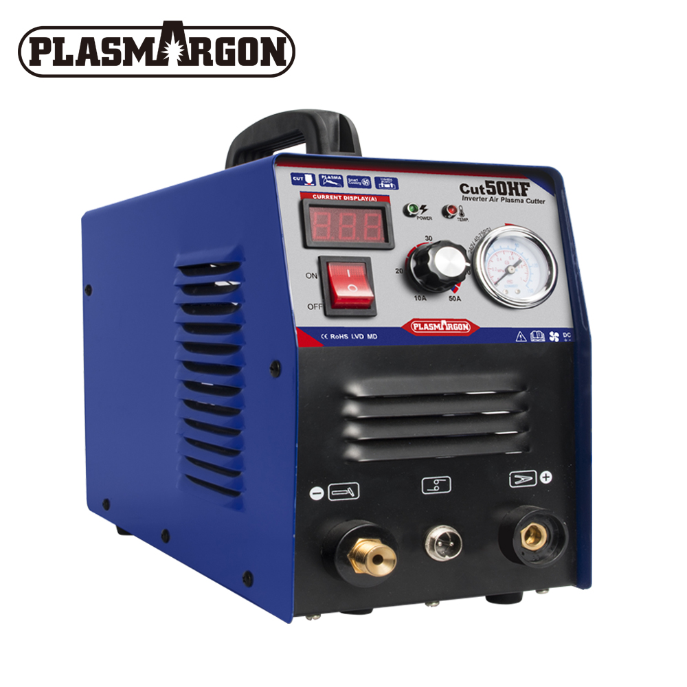 Darmowa wysyłka nowa maszyna do cięcia plazmowego CUT50 220V napięcie 50A palnik plazmowy z PT31 darmowe akcesoria spawalnicze