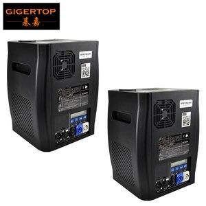 Image 1 - Gigertop 2 unidades de máquina de chispas frías, 2 5M, DMX 512, fuegos artificiales, pantalla LCD, toma de corriente de entrada/salida