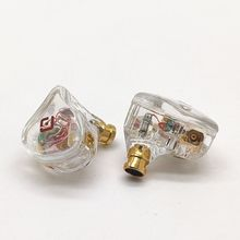 Paoge D10 Earbuds Balanced Armature Hybrid Driver in ear HIFI Earbuds Earphones heavy bass vocal pop MMCX port Headphones