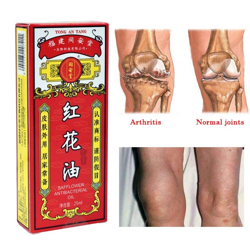 Huile de carthame chinoise nouvelle huile de Massage soulagement de la douleur dans les Muscles et les articulations huiles essentielles pommade musculaire Extra force blessée