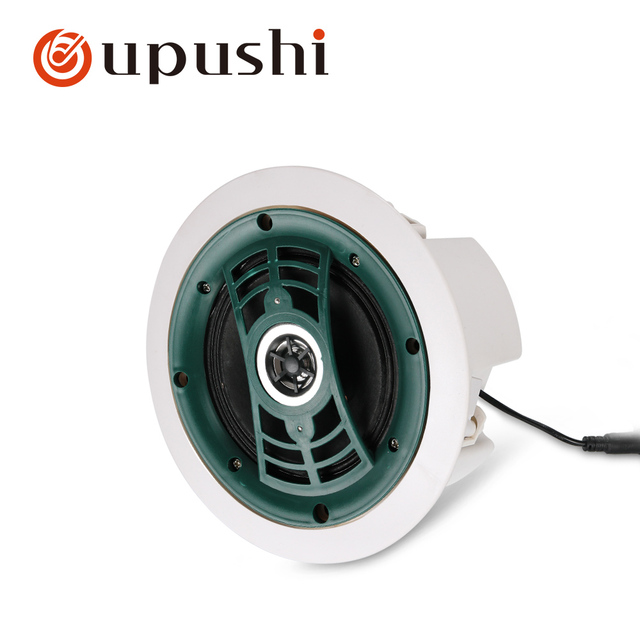 """4.5"""" Portable bluetooth speaker 10w in ceiling speaker 8ohm audio stereo in wall mount loudspeaker for home surround system"""