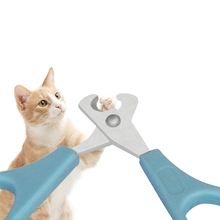 Pet Stainless Steel Nail Clipper, Cats Claw Cutting Grooming Scissor With Plastic Handle For ManicureCMMA