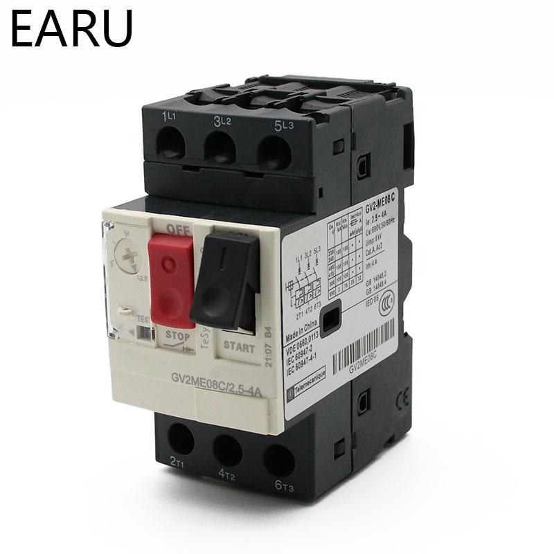 4P 20A D type 240V//415V Circuit breaker MCB 4 POLES