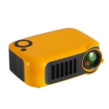 جهاز عرض محمولة صغيرة HD 1080P LCD فيلم فيديو مسرح منزلي HDMI USB GDeals