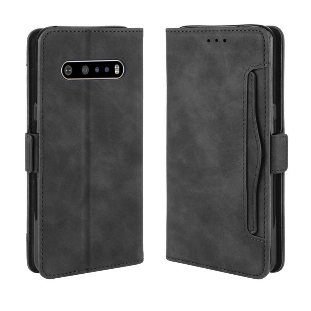 Wallet Cases For LG V60 Thinq 5G Case Magnetic Closure Book Flip Cover For LG V60 Thinq Leather Card Photo Holder Phone Bag