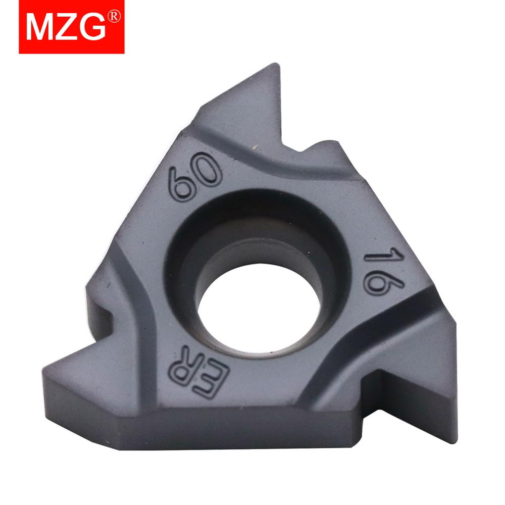 MZG 16ER A60 ZP10  Turning Threading Toolholder CNC External Stainless Steel General Machining Carbide Thread Inserts