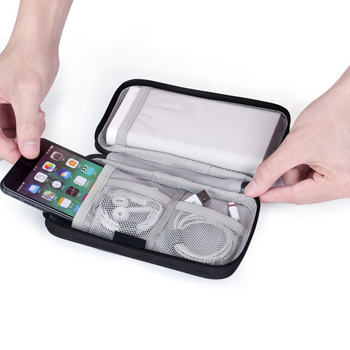 Portable Digital Bag Travel Power Bank Storage Pouch Line Headset Mobile Phone Organizer Case U Disk Card Collection Accessories cable bag multi function travel digital storage bag mobile power bank headset u disk data cable storage bag usb gadget organizer
