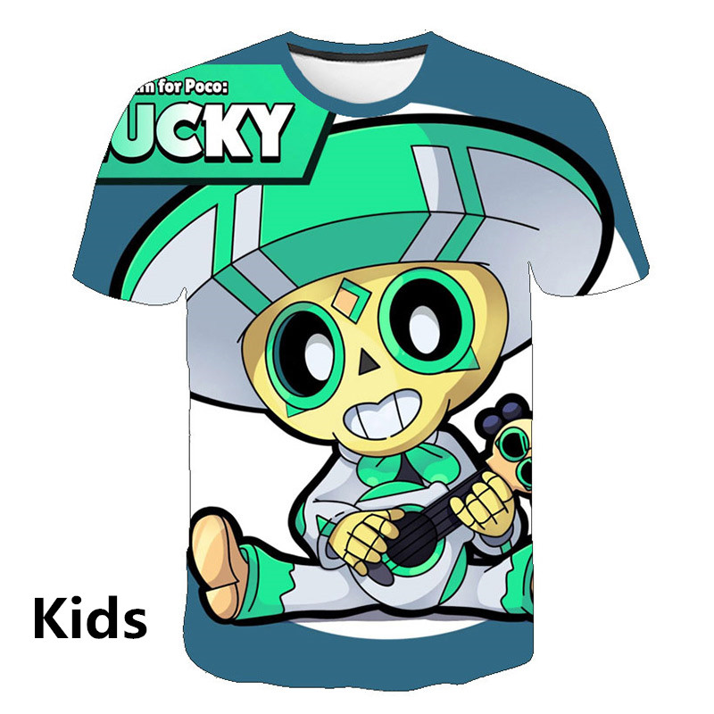 Boy Girl 3D Print T-Shirt 2020 New Spring Autumn Activity Motion Casual Fashion 3D T-Shirt Tops