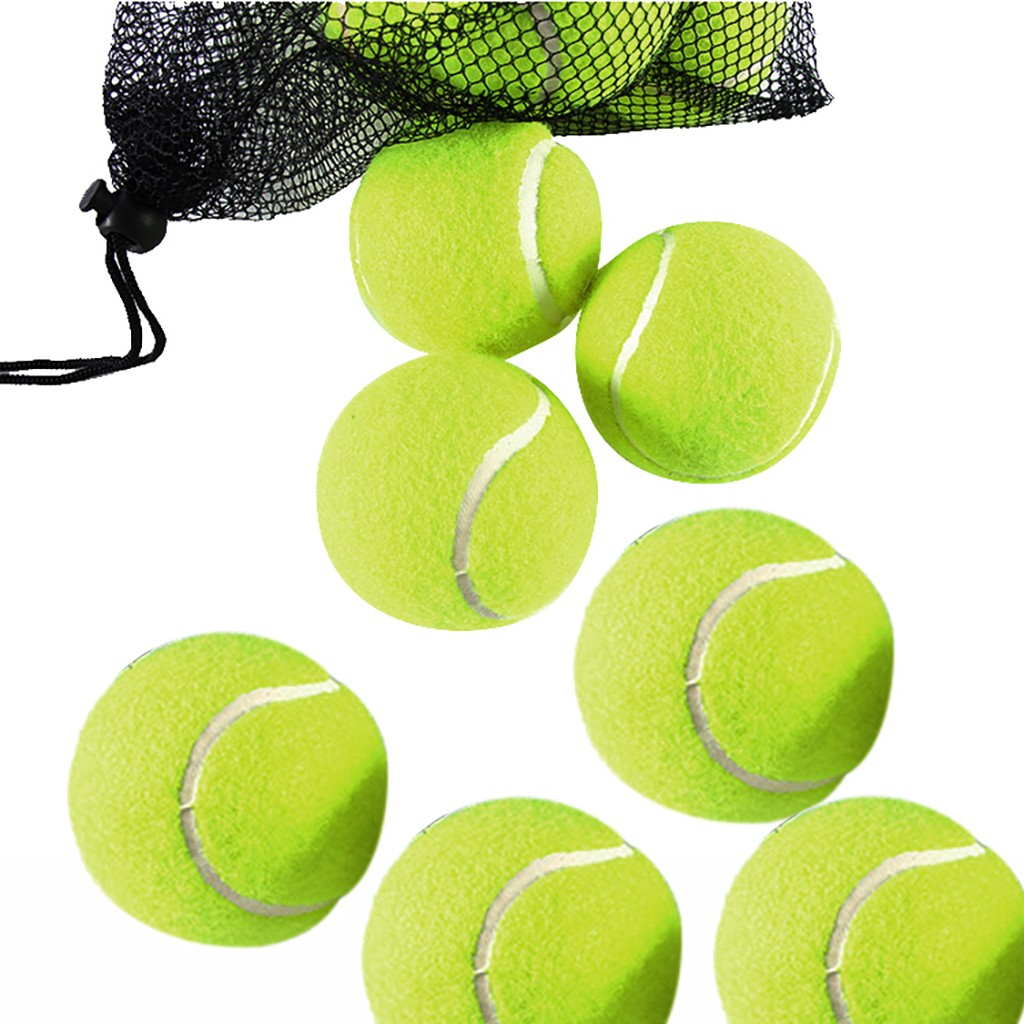 High Quality Elasticity Tennis Ball For Training Sport Tennis Balls For Tennis Practice High Standard Tennis Pelota Gigante #3