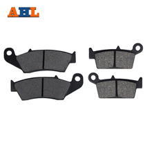 AHL Motorcycle Front and Rear Brake Pads For Suzuki DR-Z 400 2000-2009 RM125 RM250 1996-2011 RMX250 1996-1999 DR125 2008-2011