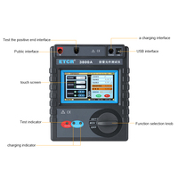 Intelligent lightning protection component tester with touch color screen Insulation resistance tester