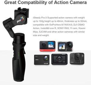 Image 2 - Hohem iSteady برو 3 3 محور Gimbal مثبت ل GoPro 8 عمل كاميرا يده Gimbal ل Gopro بطل 8,7 ، 6,5 ، 4,3 ، Osmo العمل