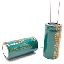 1 pcs/lot H096 35v 6800UF condensateur électrolytique en aluminium taille 18*35 6800UF35V 20%