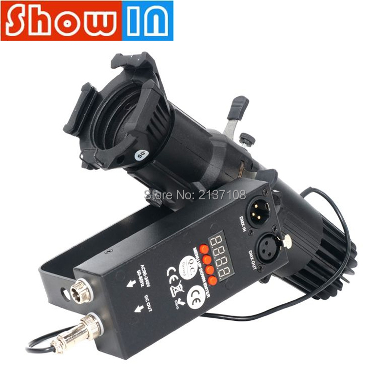 20W Mini LED Profile Studio Theater Light DMX512 Luces Concert Music Show Meeting Conference Stage Lighting Equipment WW/CW/WWCW