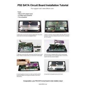 Image 5 - لوحة ترقية Bitfunx SATA أصلية, محول شبكة Playstation 2 PS2 IDE الأصلي