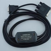 IC690ACC901: RS232/SNP интерфейс, RS232 Кабель для программирования для GE 90 серии PLC кабель интерфейса программирования