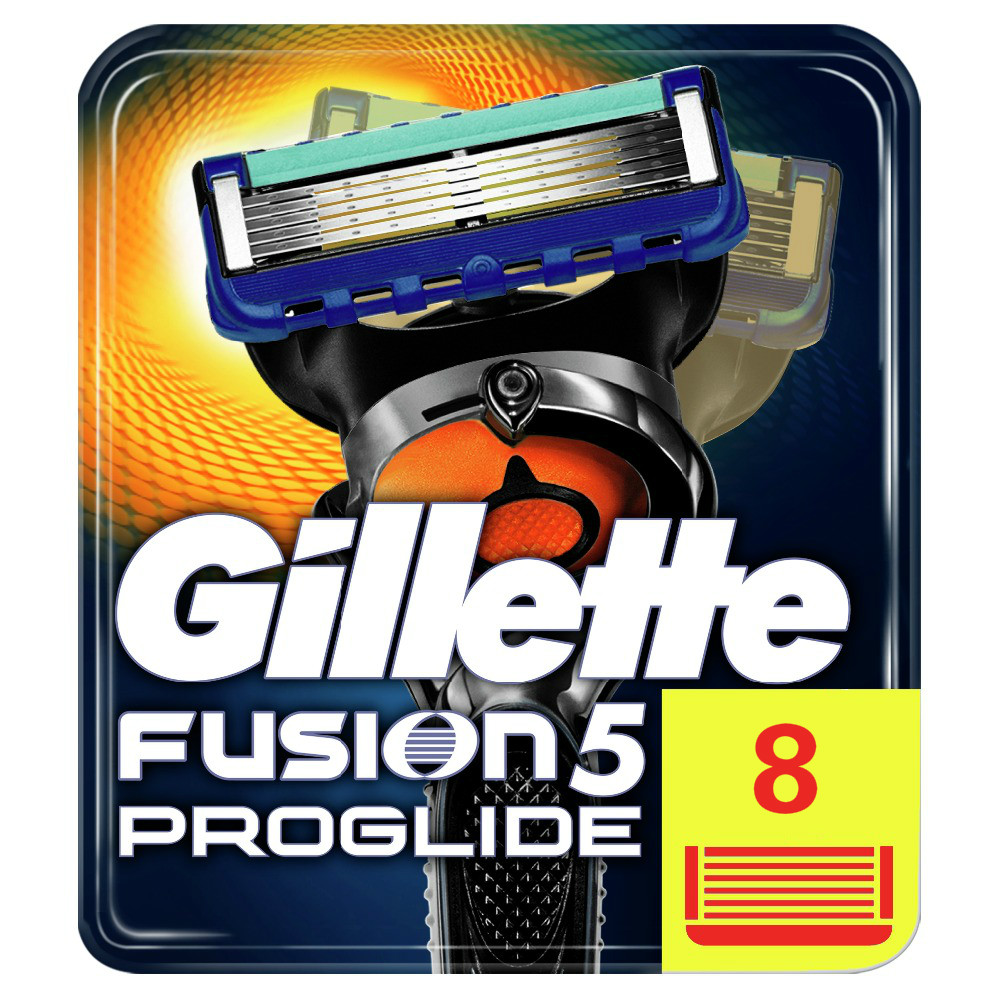Replaceable Razor Blades For Men Gillette Fusion ProGlide 5 Blade Shaving 8 Pcs Cassettes Shaving Fusion Shaving Cartridge