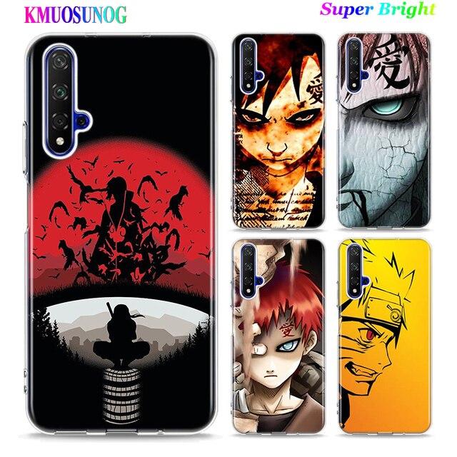 Housse en Silicone pour téléphone portable Naruto sasuke Gaara pour Huawei Honor 10i 9X 8X 20 10 9 Lite 8 8A 7A 7C Pro Lite