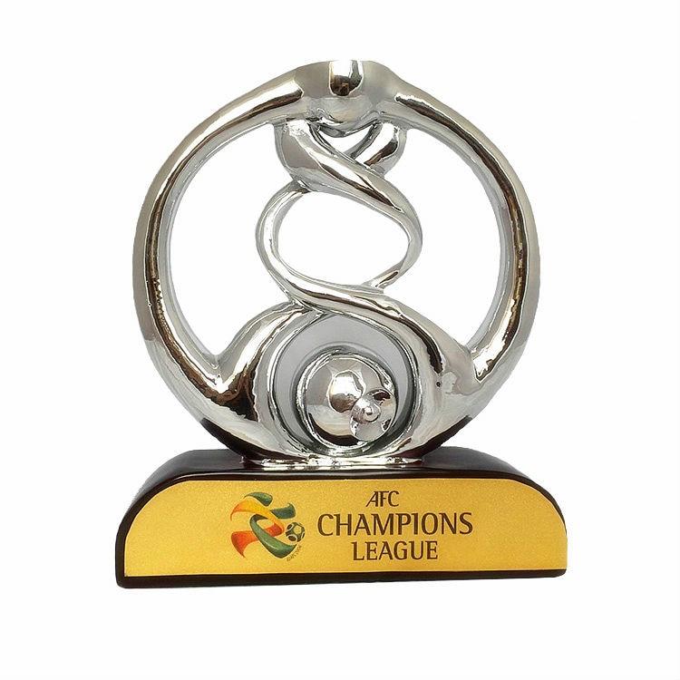 52cm Original Size 1:1 AFC Asia League Champions Trophy Soccer Souvenirs Award Free Engraving Halloween Christmas Decoration