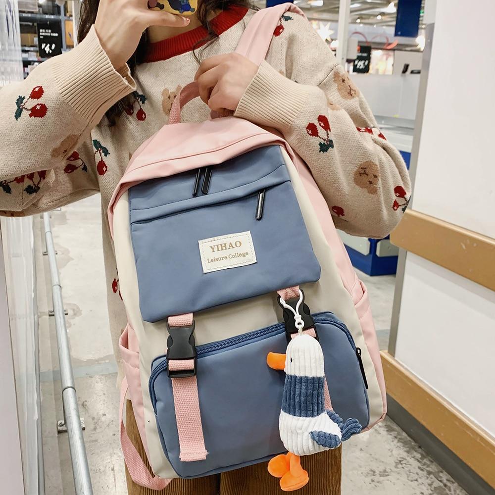 Women Cute Backpack Student School Bag 2