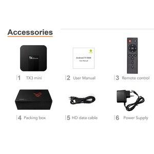 Image 5 - VONTAR TX3 מיני חכם טלוויזיה תיבת אנדרואיד 8.1 2GB 16GB Amlogic S905W Quad ממיר ליבה H.265 4K WiFi מדיה נגן TX3mini 1GB 8GB
