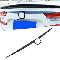 For Honda Accord 10th 2018 2019 ABS Chrome Rear Trunk Lid Tailgate Door Handle Cover Trim Molding Car Styling Accessories