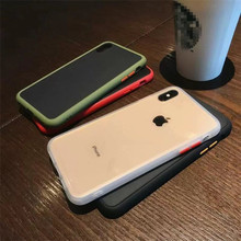 For iPhone 11 Pro Max case Retro Simple colors Phone case silicone cover for coque iPhone 7 7 Plus 6 8 6s Plus X XR xs max case new iphone case for iphone 11 for iphone11 pro max 5 8 inches 6 1 inches 6 8 inches 6 6s 7 8 plus ix xr max x fashion back cover