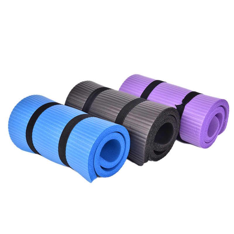 Siłownia miękkie Pilates maty antypoślizgowe joga nakolannik poduszka łokieć Sport Mat składane klocki kryty kulturystyki 60x25x1.5cm grubość