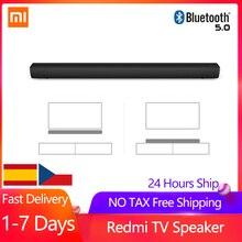 Звуковая панель Xiaomi Redmi, ТВ-Колонка 30 Вт, Беспроводная колонка Bluetooth 5,0, колонка для ПК, театра, Aux 3,5 мм, аудио, проводной музыкальный динамик дл...