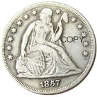 US Coins 1857 Seated...