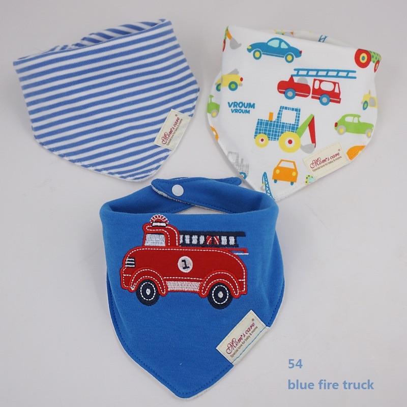 54 blue fire truck