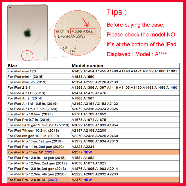 For iPad Air 4 Case 2020 iPad 10.2 Case 7 8th Generation Case Pro 11 2020 Mini 5 10.5 Air 2 9.7 6th funda iPad Pro 11 2021 Case 1