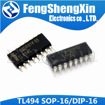 10pcs/lot TL494CN DIP16 TL494C DIP TL494 494CN DIP-16 TL494CDR SOP-16 PULSE-WIDTH-MODULATION CONTROL CIRCUITS  IC - sale item Active Components