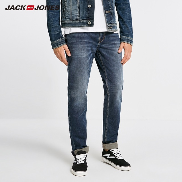 JackJones Winter Mens Cotton Warm Comfortable Jeans Menswear 218432514