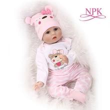 NPK Одежда для куклы для новорожденных 22 дюйма 50-55 см Reborn Baby Doll аксессуары для кукольной одежды Одежда для детского праздника подарок на день рождения