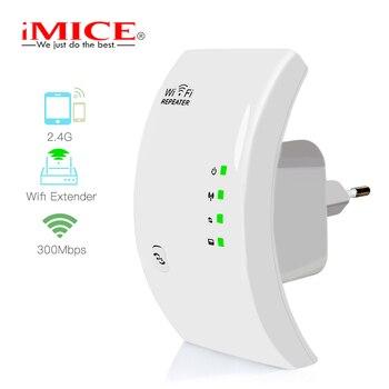 Repetidor WiFi inalámbrico de 300Mbps, amplificador WiFi, extensor de largo alcance de...