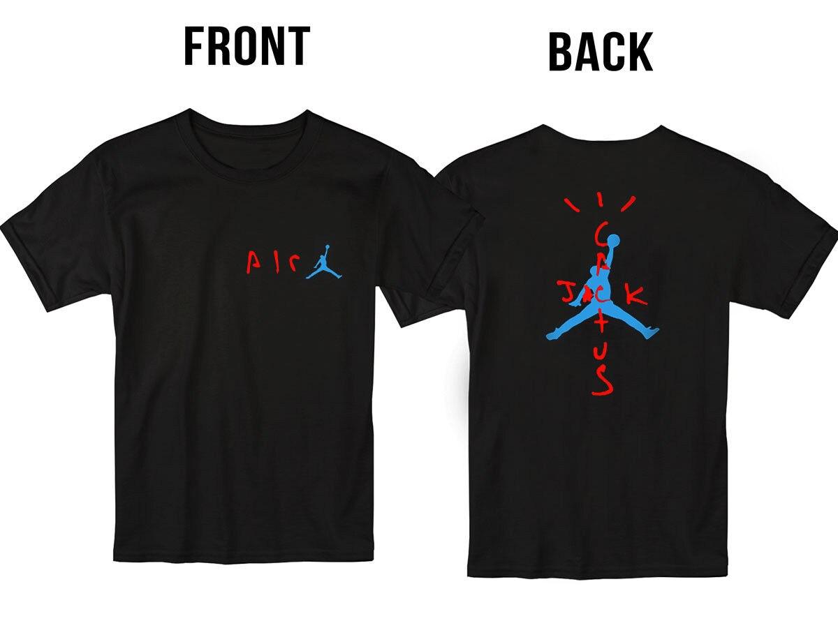 Baru Travis Scott Cactus Jack Astroworld T Shirt Pria Dan Wanita Streetwear Ukuran S 3xl T Shirt Aliexpress
