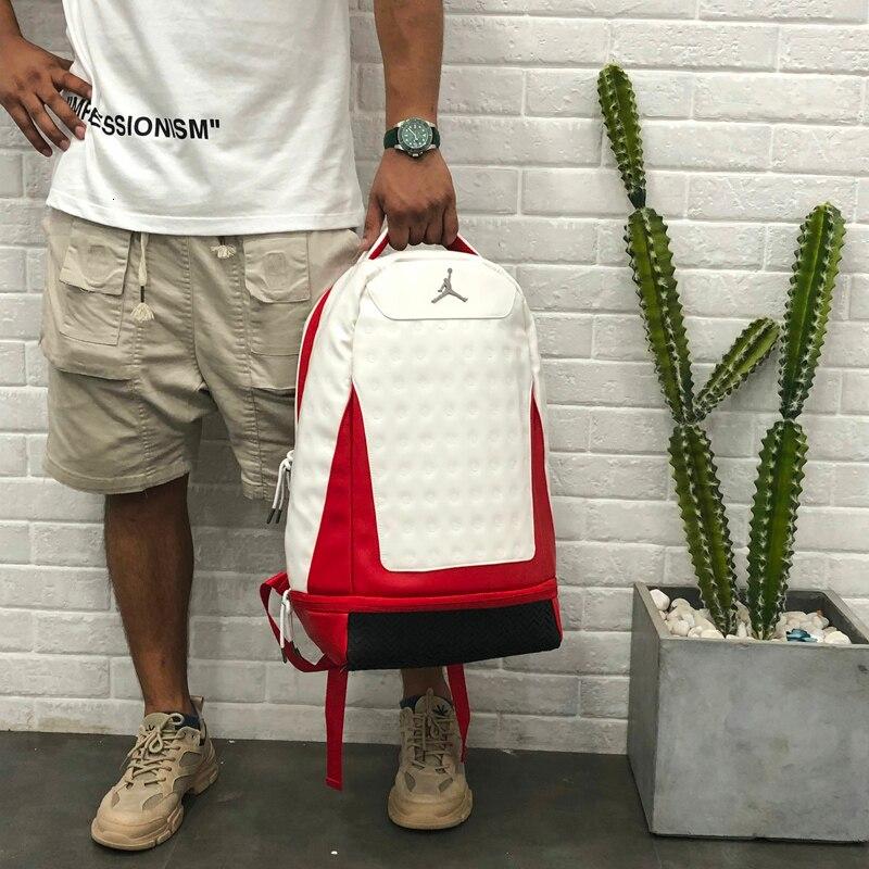 Nike Air Jordan grande capacité sac de randonnée mode sac d'entraînement 3 couleurs sac à dos scolaire - 2