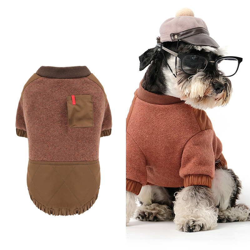 Cat Hoodie Pet Dog Clothes Sweater Autumn and Winter Teddy Clothing Ropa Para Gato
