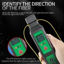 Новый волоконно оптический идентификатор со встроенным 750нм 1700 нм SM и мм волоконно оптический идентификатор Ручной Волоконно оптический кабель тестовый инструмент FTTH
