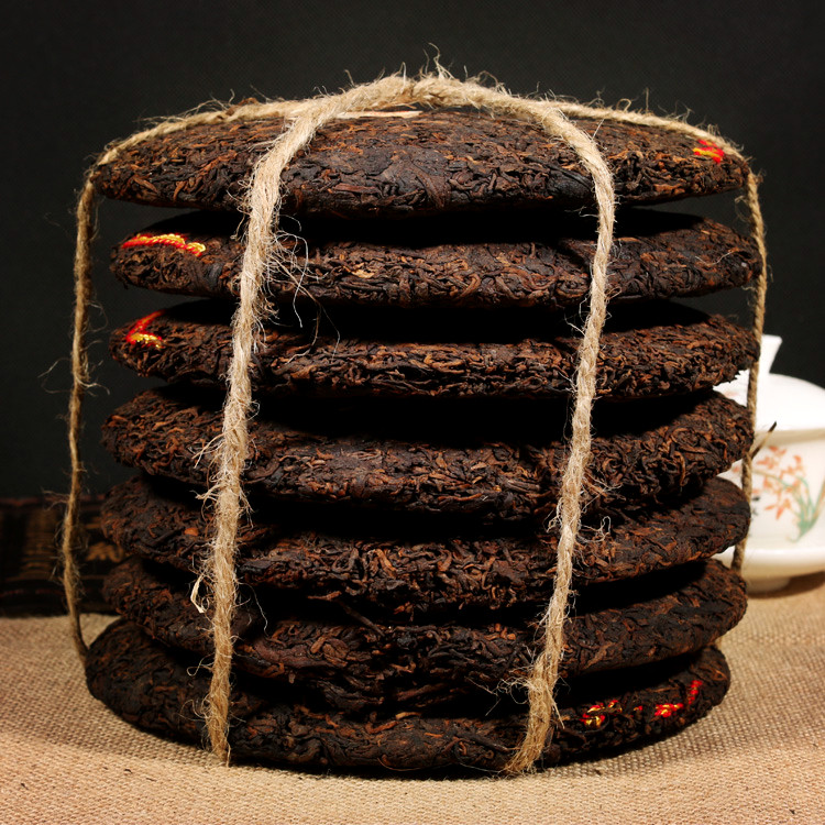 Top Grade 1990 China Yunnan Oldest Puerh Ripe Puer Black Tea Green Food For Detoxification Health Care Lost Weight CHENGXJ