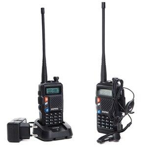 Image 5 - BaoFeng BF UVB3 Plus 8W Powerful Walkie Talkie cb ham Two Way Radio 128CH 136 174Mhz & 400 520Mhz 10KM Long Range Upgrade UV 5R
